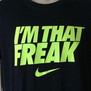 i'm that freak nike shirt